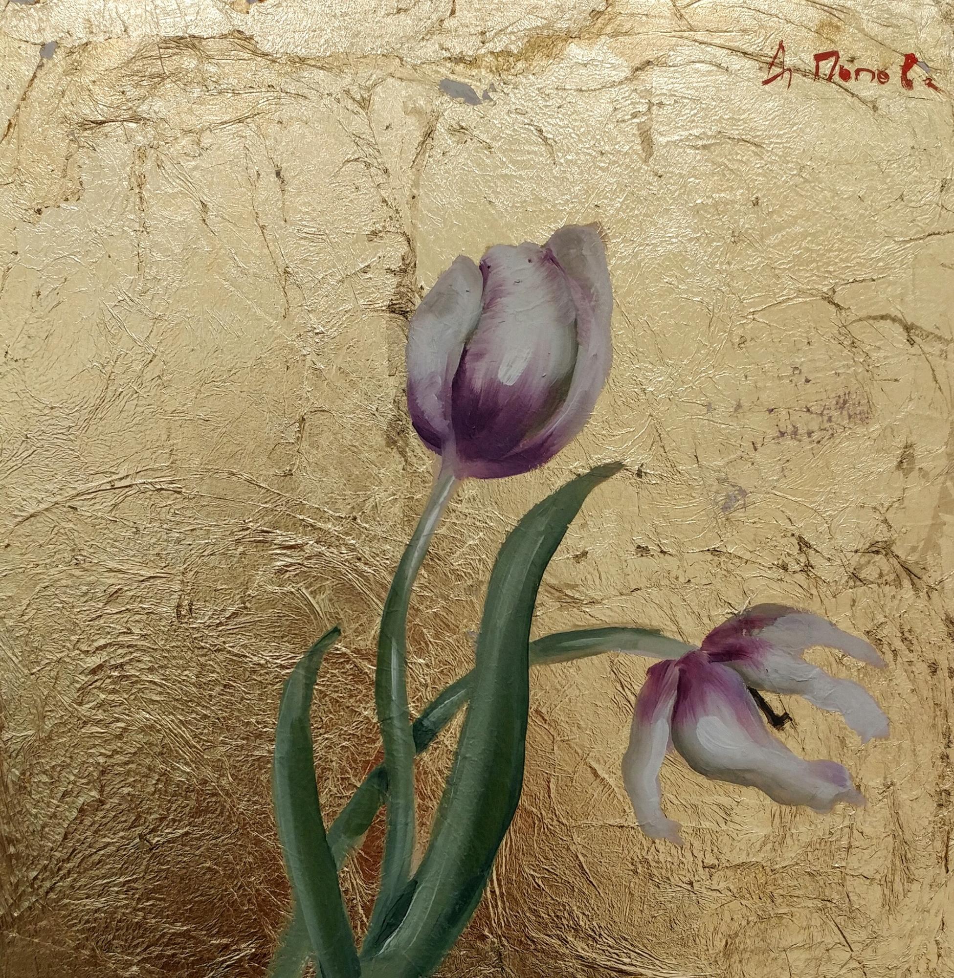 Byzantine Tulips III by Diliana Popova