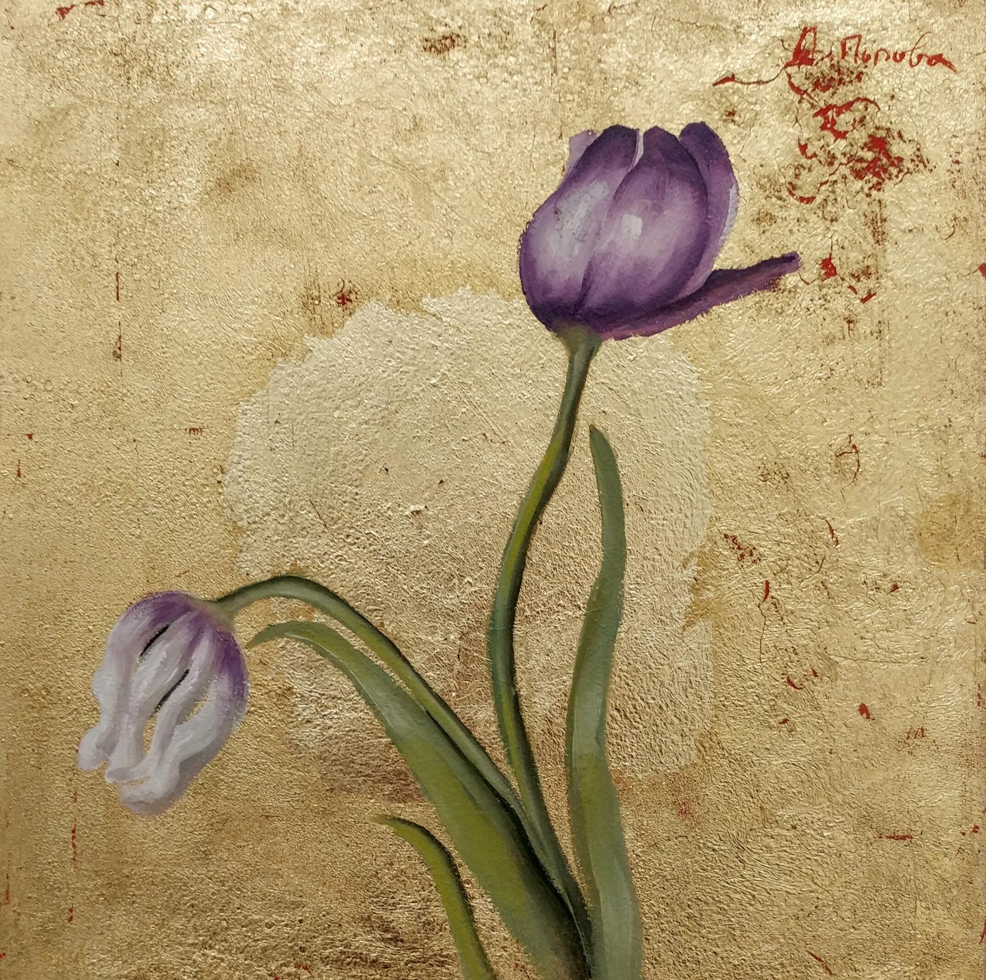 Byzantine Tulips V by Diliana Popova