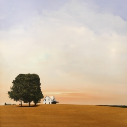 Scott Steele - Untitled (White Farmhouse)