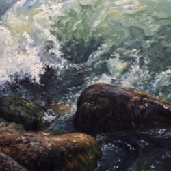 Sharin  Barber  - Dark Waters - 'The Weight of Water'