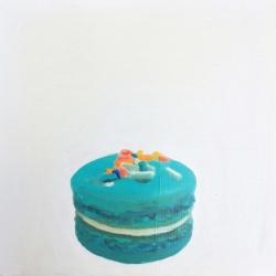 Erin Vincent - Blue Macaron