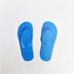EM Vincent - Blue Flip Flops