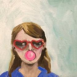 Frances  Hahn - Bubblegum Jean