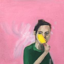 Frances  Hahn - Popsicle Angel