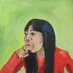 Frances  Hahn - Doughnut Monica