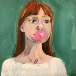Frances  Hahn - Bubblegum Cheryl