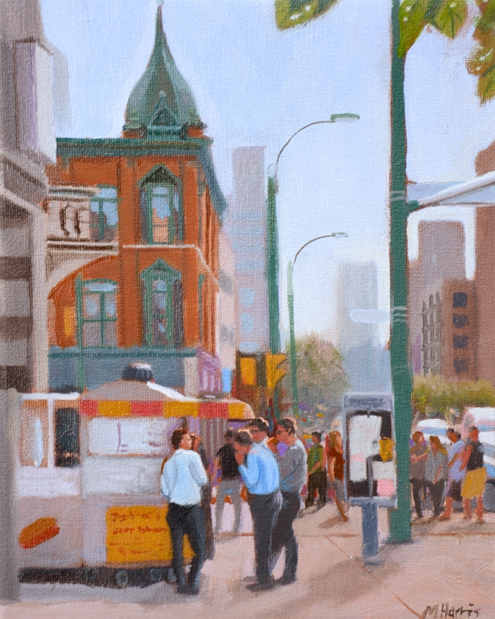 Lunch Break, Queen and Spadina  by Michael Harris