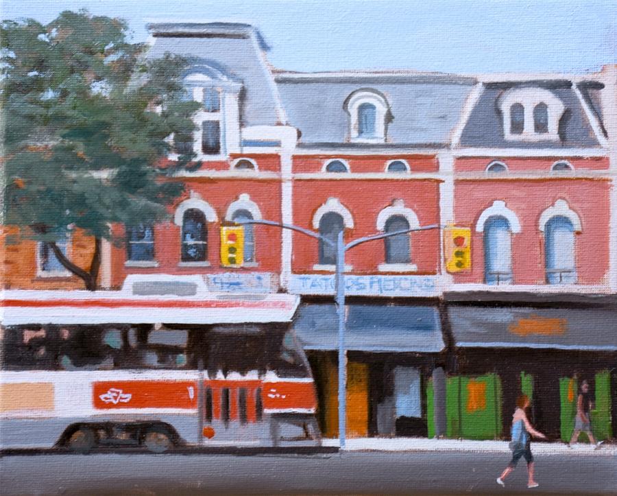 Queen Streetcar by Michael Harris