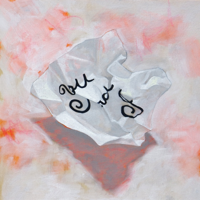 Love notes 37- You and I (pink) by Lindsay Chambers