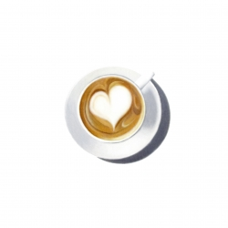 Erin Rothstein - Tasting Room - Latte Heart