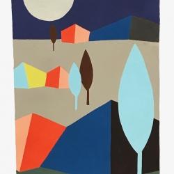 Michela Sorrentino - Ingres landscape and Moon