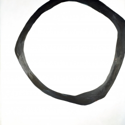 Meret  Roy  - Textured Black Ring