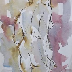 Mel Delija - Standing Nude 2