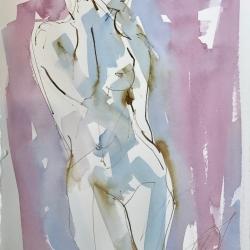 Mel Delija - Nude Standing XI