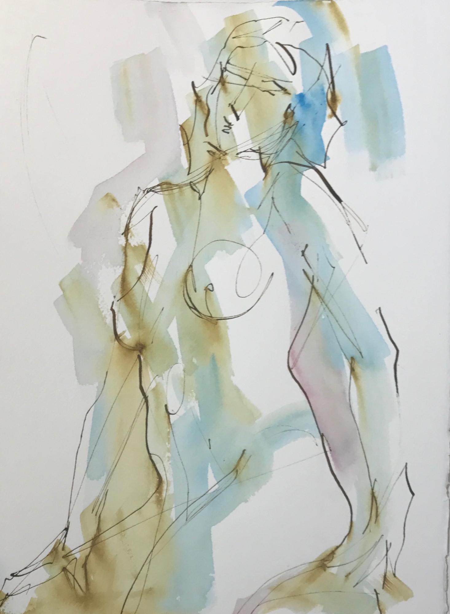 Nude Twist 2 by Mel Delija