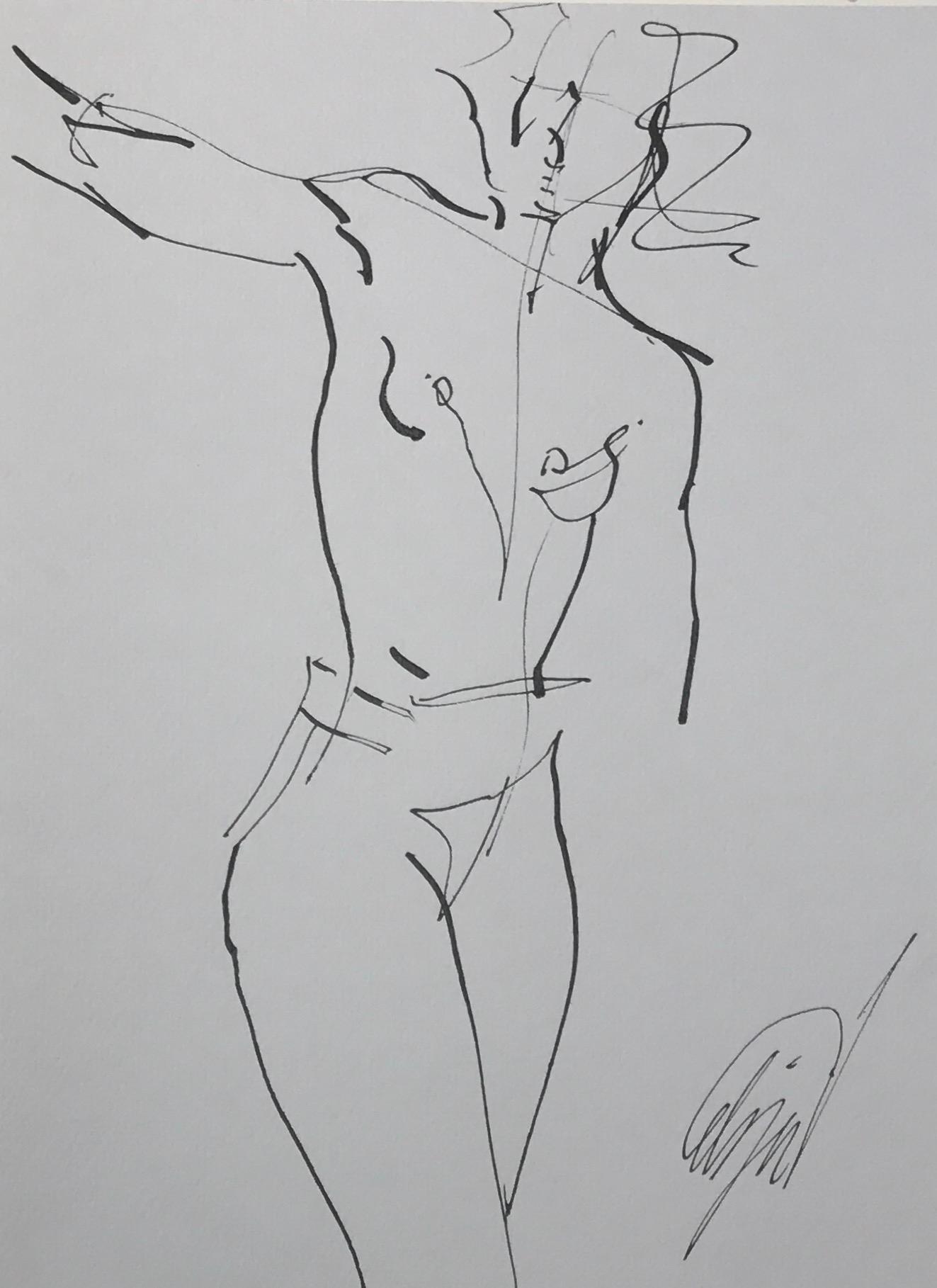 Nude Motion  by Mel Delija