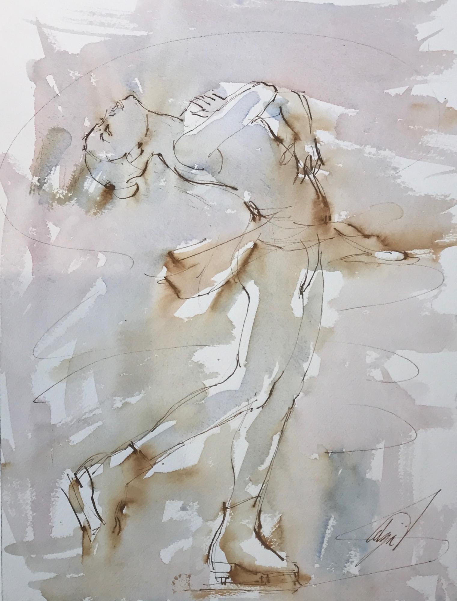Layback Spin by Mel Delija