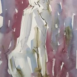 Mel Delija - Nude Back 5
