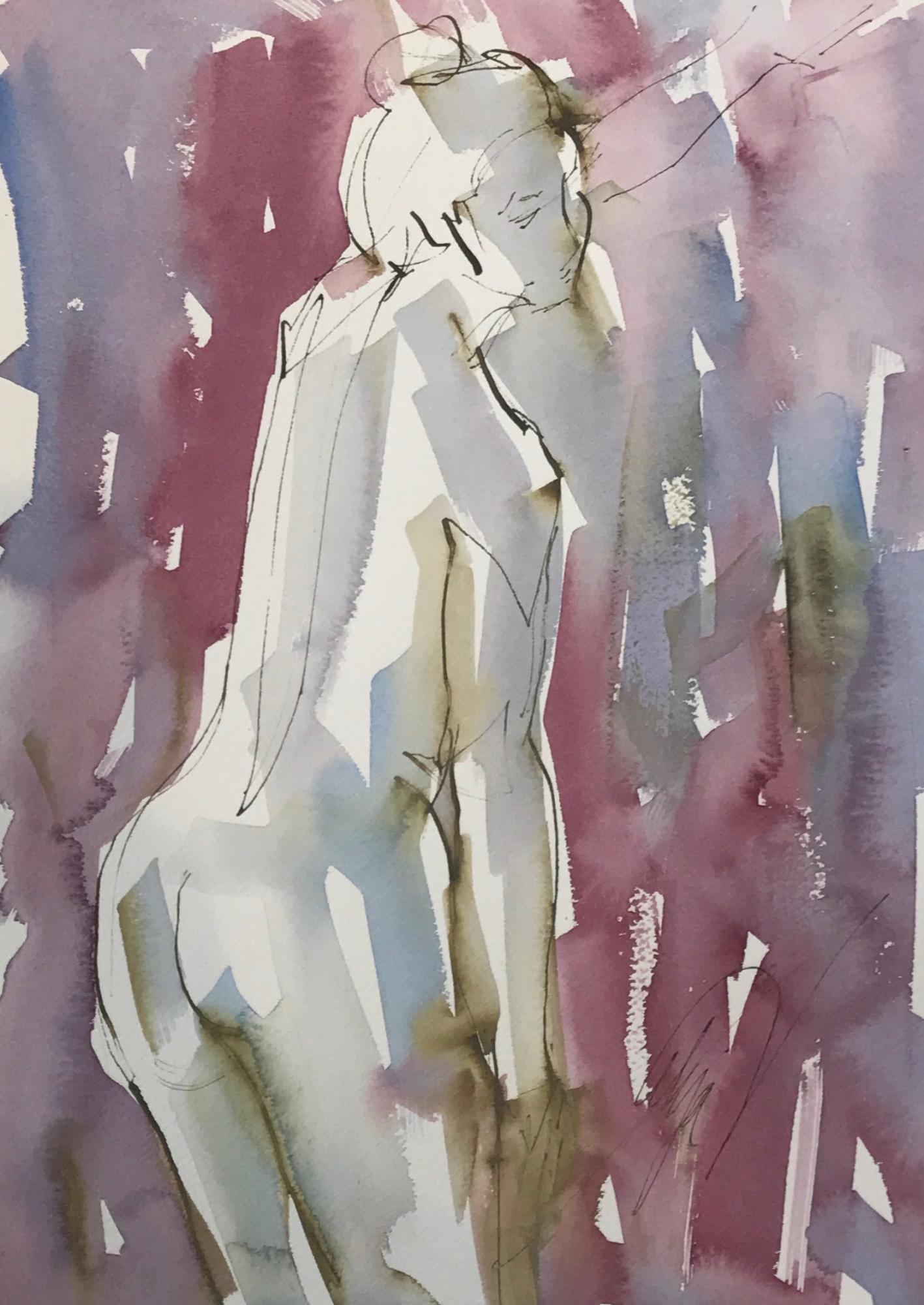 Nude Back 5 by Mel Delija