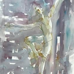 Mel Delija - Dancer on Point VI