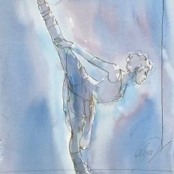 Mel Delija - Dancer in Panche Position