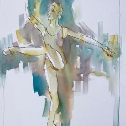 Mel Delija - Dancer on Point III