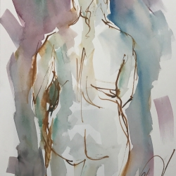Mel Delija - Back de Nude