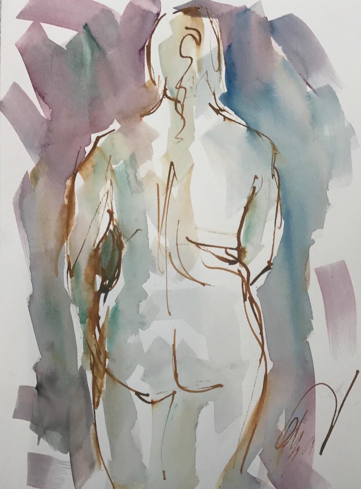 Back de Nude by Mel Delija
