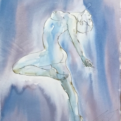 Mel Delija - Backbend Nude