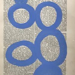 Michela Sorrentino - Fan Fan blue 27