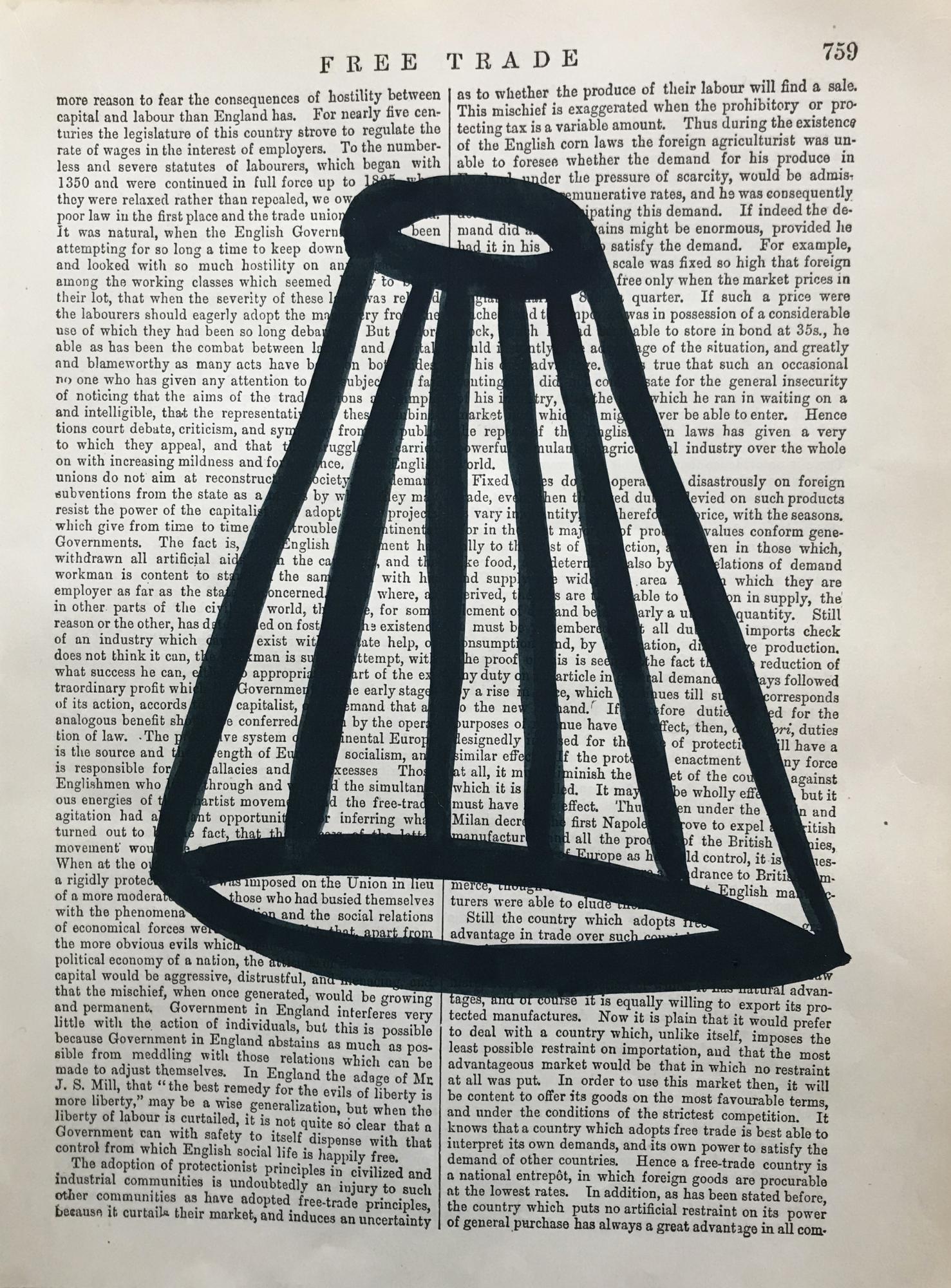 Free Trade Black 759 by Michela Sorrentino