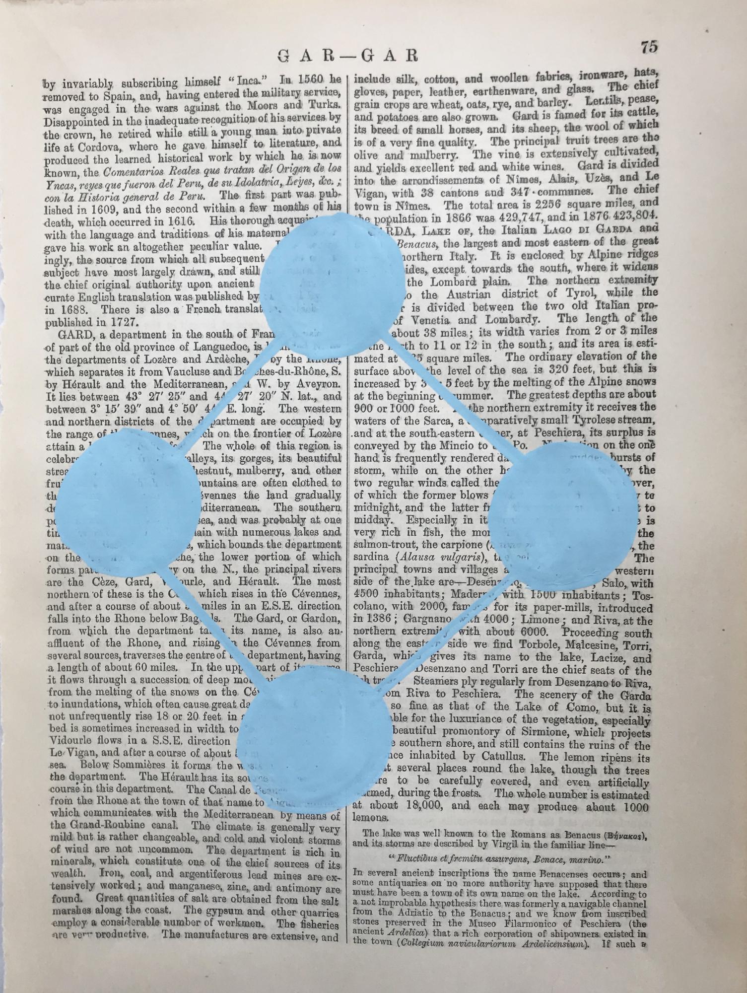Gar Gar Blue 75 by Michela Sorrentino