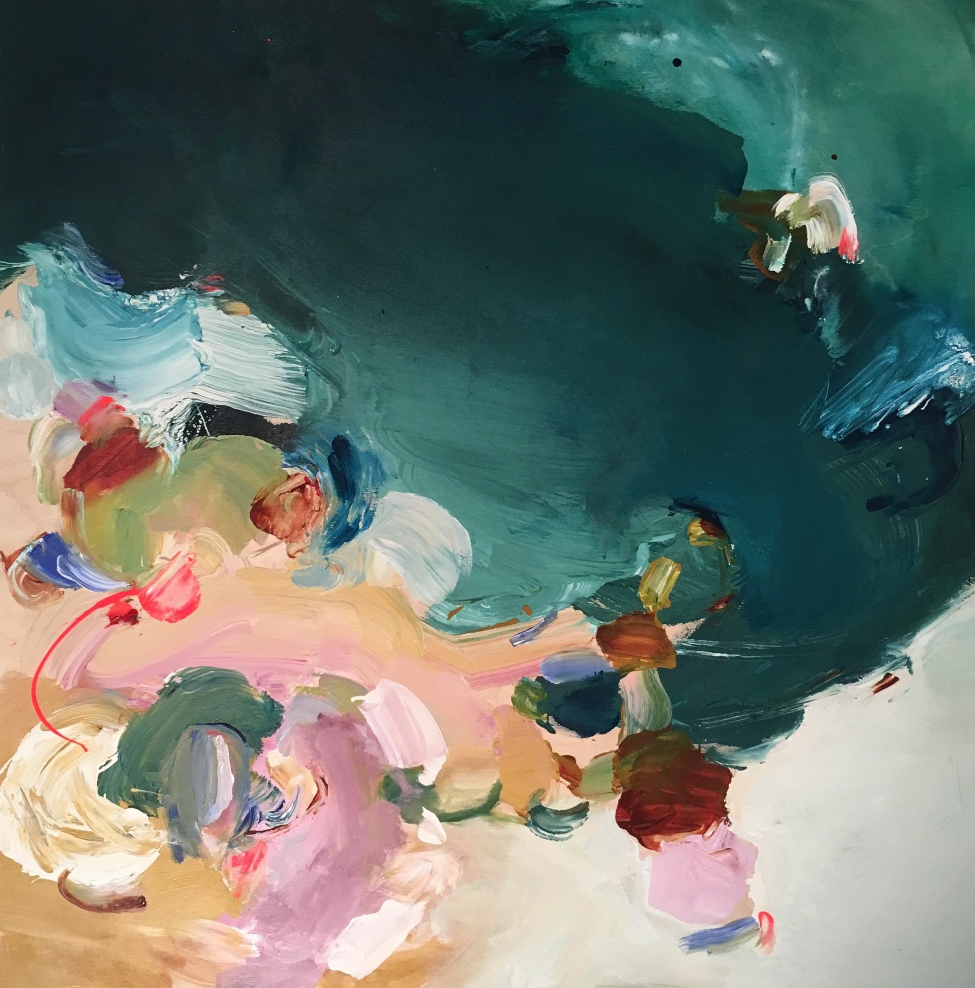 Verdant Shore  by Christine Breakell-Lee