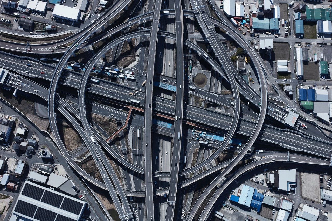 Highway Series - Nagoya  by Peter Andrew