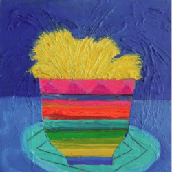 Julie Davidson Smith - Rainbow Pot