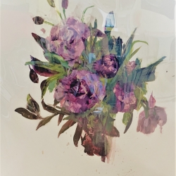Madeleine Lamont - Purple Bouquet IV