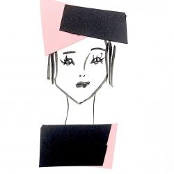 Diane Lingenfelter - Black and Pink Blocks