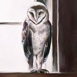 Emily Bickell - Purple Owl