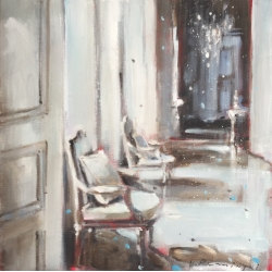 Hanna Ruminski - Parisian Apartment in white