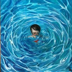 Kate Domina - Pool Boy in Red