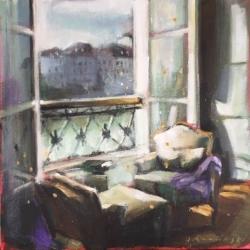 Hanna Ruminski - Parisian Apartment with a View