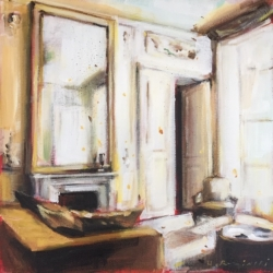 Hanna Ruminski - Parisian Apartment in Cream