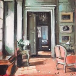 Hanna Ruminski - Parisian Apartment with Pale Terracotta Floor