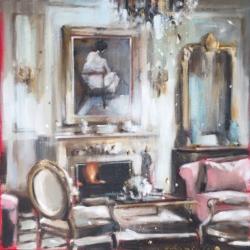Hanna Ruminski - Parisian Apartment in Pastels