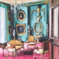 Hanna Ruminski - French Apartment in Turquoise