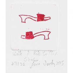 Lori Doody - Walk a Mile in These Shoes (Red)