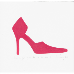 Lori Doody - Help You Get Your Foot in the Door (Pink)