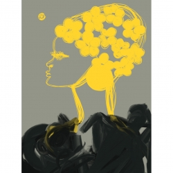 Annie  Naranian  - Flowers by Nina Ricci