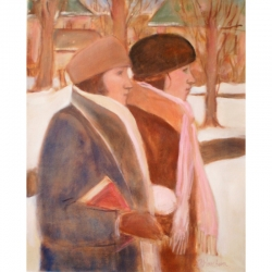 Susan McLean Woodburn - Sisters in the Snow-On the Way