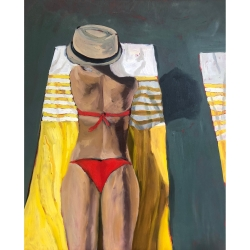 Laurie Foote - Yellow Stripes